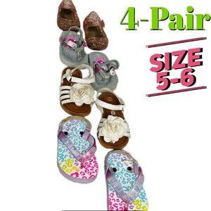 Baby Girl Glitter Hello Kitty Sandal Bundle 5/6